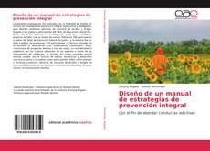 Couverture de Diseño de un manual de estrategias de prevención integral