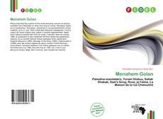 Bookcover of Menahem Golan
