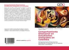 Bookcover of Comportamiento Emocional en Estudiantes Inmigrates en Colombia