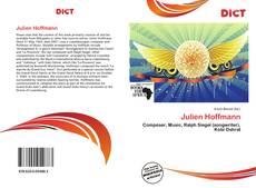 Bookcover of Julien Hoffmann