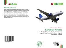 KoralBlue Airlines kitap kapağı