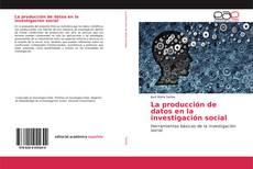 La producción de datos en la investigación social的封面