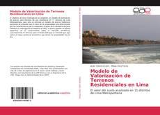 Обложка Modelo de Valorización de Terrenos Residenciales en Lima