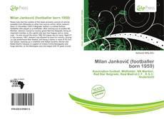 Portada del libro de Milan Janković (footballer born 1959)