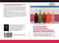 Portada del libro de La Evaluación Sensorial para industrias de Agua y Bebidas Refrescantes