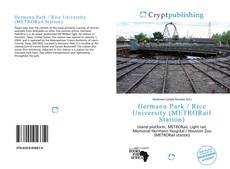 Buchcover von Hermann Park / Rice University (METRORail Station)