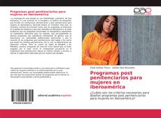 Capa do livro de Programas post penitenciarios para mujeres en iberoamérica