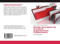 Portada del libro de Estudio descriptivo de la Cultura Organizacional Predominante