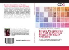 Buchcover von Estudio Psicométrico del Test de Matrices Progresivas Raven Avanzado