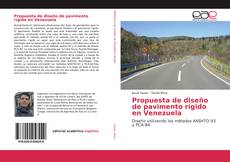 Borítókép a  Propuesta de diseño de pavimento rígido en Venezuela - hoz