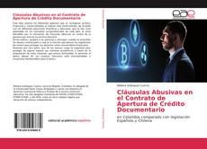 Buchcover von Cláusulas Abusivas en el Contrato de Apertura de Crédito Documentario