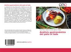 Análisis gastronómico del pato al lodo kitap kapağı