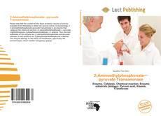 Buchcover von 2-Aminoethylphosphonate—pyruvate Transaminase