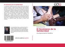 Buchcover von El fenómeno de la Solidaridad