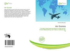 Bookcover of Air Guinée
