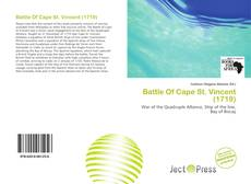 Bookcover of Battle Of Cape St. Vincent (1719)