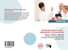 Bookcover of Aromatic-amino-acid—glyoxylate Transaminase
