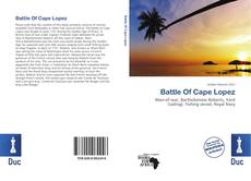 Portada del libro de Battle Of Cape Lopez