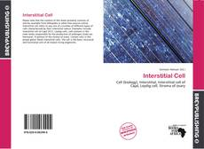 Bookcover of Interstitial Cell