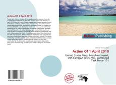 Bookcover of Action Of 1 April 2010