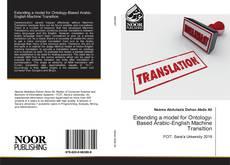 Bookcover of Extending a model for Ontology-Based Arabic-English Machine Transltion