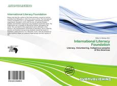 Bookcover of International Literacy Foundation