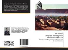 Bookcover of Language and Regional variations in Morocco