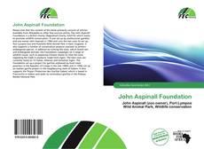 Bookcover of John Aspinall Foundation