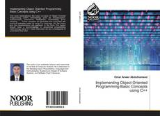 Bookcover of Implementing Object Oriented Programming Basic Concepts using C++