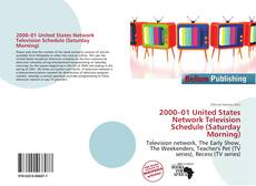 Buchcover von 2000–01 United States Network Television Schedule (Saturday Morning)