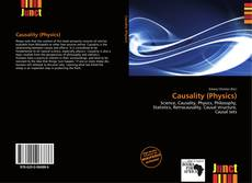 Bookcover of Causality (Physics)
