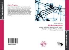 Buchcover von Alpha-Amylase