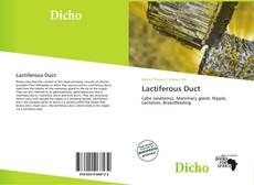 Bookcover of Lactiferous Duct