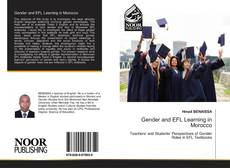 Bookcover of Gender and EFL Learning in Morocco