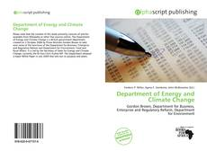 Department of Energy and Climate Change kitap kapağı