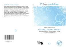 Bookcover of Gifford, South Carolina