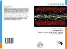 Craig Walsh kitap kapağı