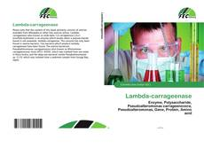 Bookcover of Lambda-carrageenase