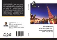 Bookcover of Arbitration in the UAE