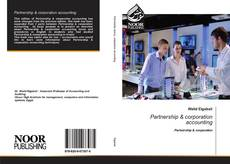 Buchcover von Partnership & corporation accounting