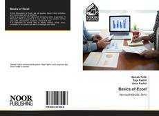 Bookcover of Basics of Excel