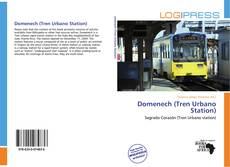 Portada del libro de Domenech (Tren Urbano Station)