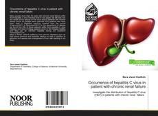 Portada del libro de Occurrence of hepatitis C virus in patient with chronic renal failure