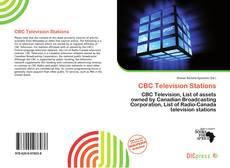 Bookcover of CBC Television Stations