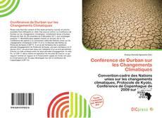 Conférence de Durban sur les Changements Climatiques kitap kapağı