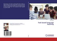 Bookcover of Task based language teaching