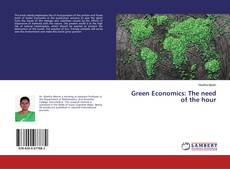 Обложка Green Economics: The need of the hour