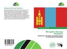 Couverture de Mongolia–Norway Relations