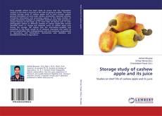 Portada del libro de Storage study of cashew apple and its juice