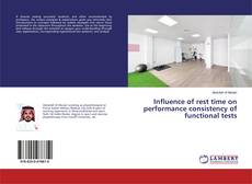 Обложка Influence of rest time on performance consistency of functional tests